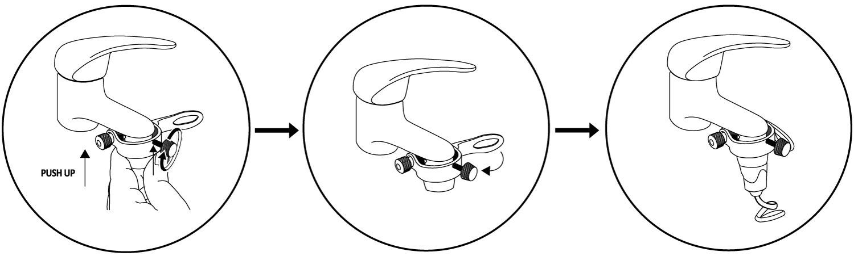 sistema di collegamento ADDY al rubinetto per utilizzo di BOB